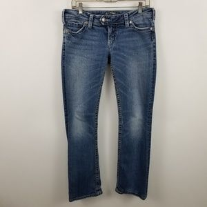 """Silver Tuesday 16 1/2"""" Womens Boot Cut Jeans"""